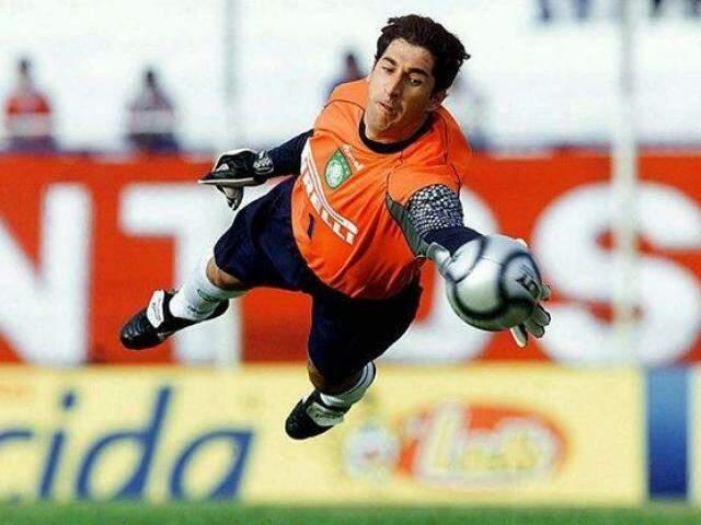 Sérgio em atuação com a camisa do Palmeiras (Foto: Reprodução)