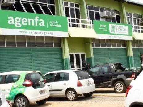 Fachada da Agência Fazendária em Campo Grande, onde contribuintes podem tirar dúvidas sobre novas versão da NF-e. (Foto: Divulgação/Sefaz)
