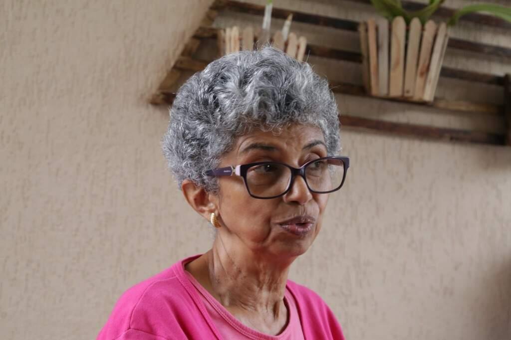 Maria Terezinha Leite diz que vai se vacinar contra a gripe (Foto: Kisie Ainoã)