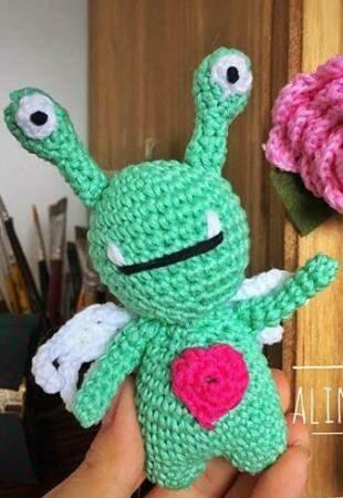 Meu amigo ET também é fofo.
