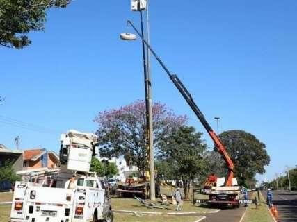 Prefeitura abre pregão para ampliar instalação de lâmpadas de led