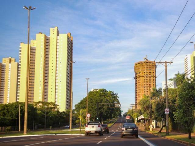 Avenida Afonso Pena. (Foto: Paulo Francis)
