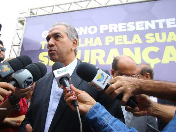 Governador Reinaldo Azambuja, PSDB. (Foto: André Bittar/Arquivo).