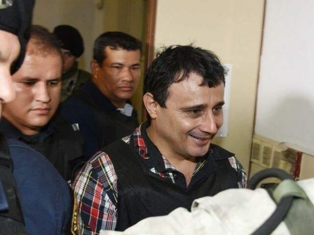 Vilmar Acosta Marques está preso em Assunção (Foto: ABC Color)