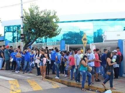 Portões do Enem abrem às 11 horas para 72,3 mil candidatos em MS