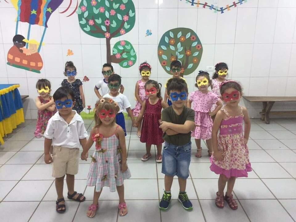 Apresentação dia dos Papais Jardim II -(Foto:Divulgação)