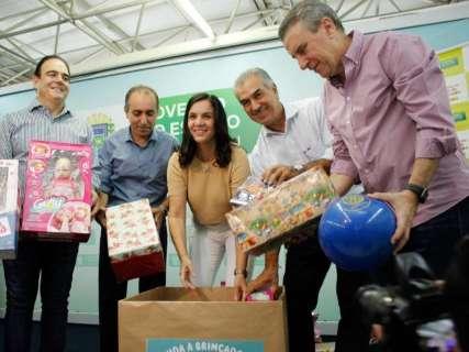 Campanha quer arrecadar mais de 10 mil brinquedos para crianças carentes