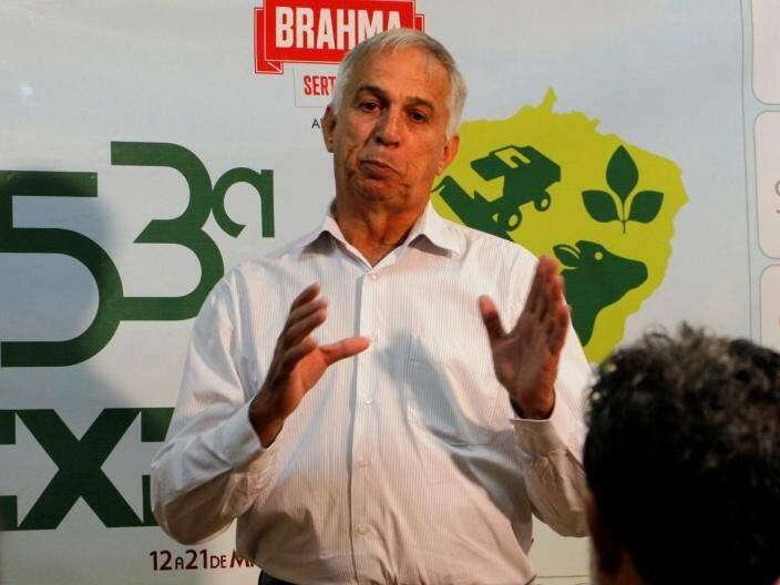 Lúcio Damália fala sobre Expoagro 2017, que acontece em maio (Foto: Helio de Freitas)