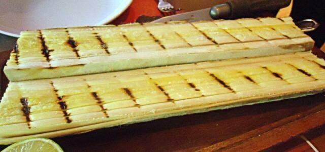 O palmito grelhado é uma das diferenças no menu do Madero.