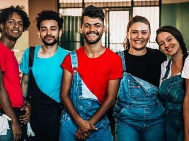 Amigos se reuniram e criaram a Cia Contempurban (Foto: Divulgação)