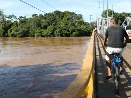 Chuva dá trégua e nível do Rio Aquidauana cai para 4,99 metros