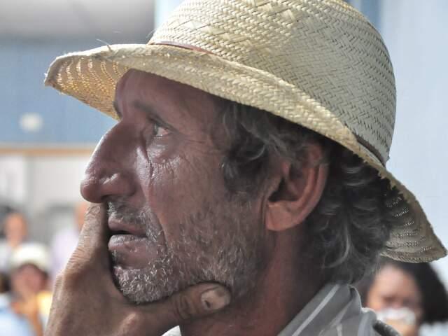 Lágrimas nos olhos dos militantes ao lembrarem de Egídio Brunetto. (Foto: João Garrigó)