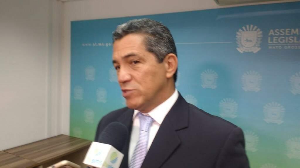 Coronel Angelo Rabelo, do Instituto do Homem Pantaneiro (Foto: Leonardo Rocha)