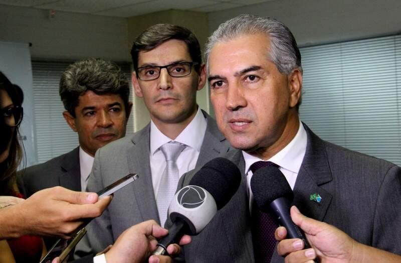 Reinaldo participa de encontros com os demais governadores, em Brasília (Foto: Chico Ribeiro - Assessoria)
