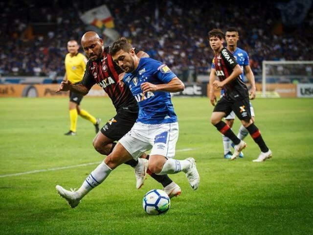 Cruzeiro e Atlético-PR voltam a jogar na quinta-feira, pelo Brasileirão. (Foto: Cruzeiro FC)