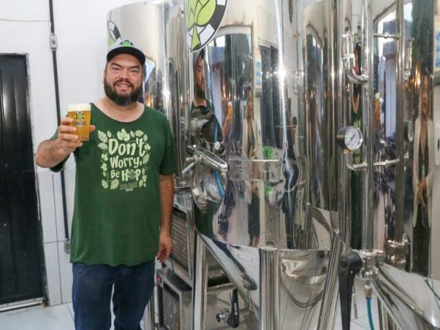 Objetivo principal dos sócios é proporcionar a ingestão da cerveja mais fresca possível. (Foto: Paulo Francis)