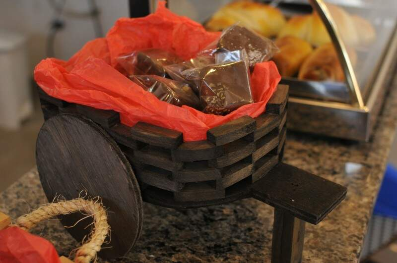 """Entre os sabores """"Du Mato"""", tem pão de mel fresquinho. (Foto: Alcides Neto)"""