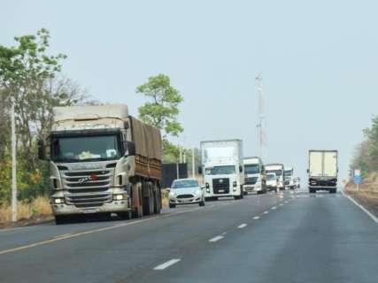 Concessionária prevê  215 mil veículos passando pela BR-163 no feriadão