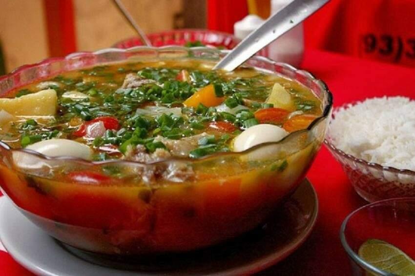 Caldeira, um dos pratos típicos do Norte, será vendido em Terenos. (Foto: Divulgação)