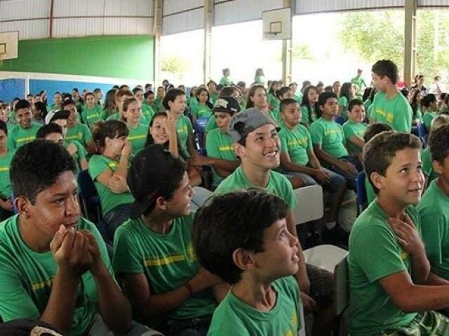 Calendário foi alterado para alunos das 355 escolas da rede estadual em MS (Foto/Arquivo)