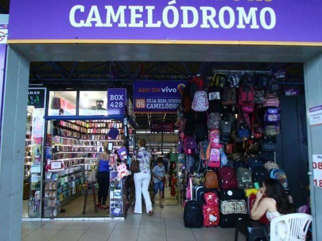 Centro do comércio popular da cidade, Camelódromo está no foco de ações futuras (Foto: André Bittar)