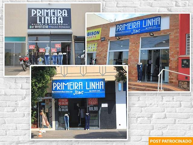 Lojas estão localizadas na Avenida Júlio de Castilhos, 965, Avenida Senador Filinto Müler, 648, e há um mês na Avenida Tamandaré, 3049. (Montagem: Thiago Mendes)