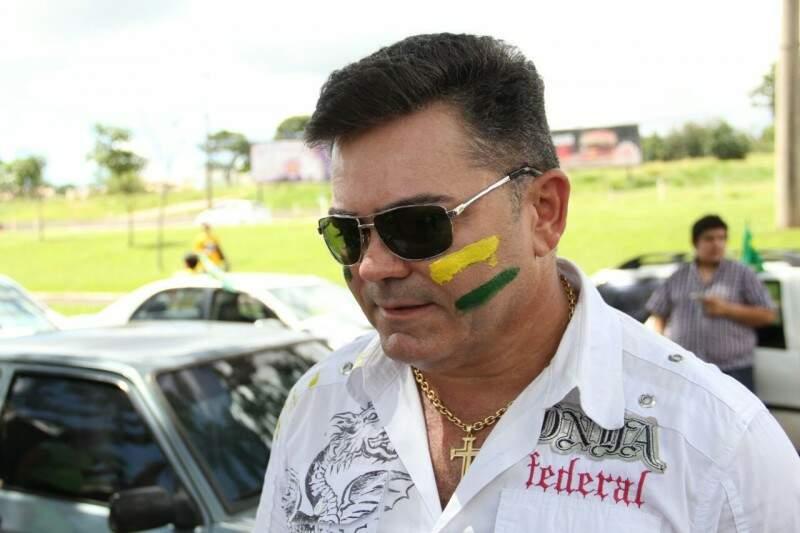 Empresário critica Governo federal por aumento de impostos e multar caminhoneiros (Foto: Marcos Ermínio)