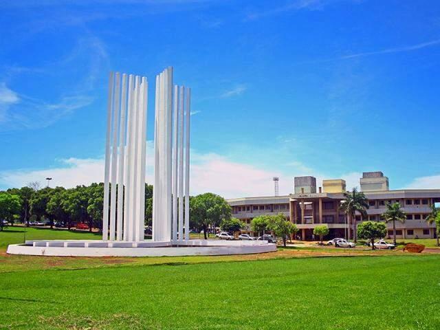 Campus da UFMS em Campo Grande (Foto: Marcos Ermínio)