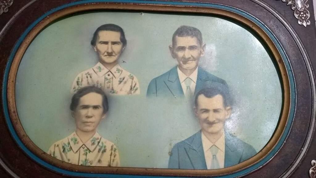 Joaninha F. Furtado e Cerapiao, Ana Rosa e Sebastiao F. Furtado. (Foto: Arquivo Pessoal)