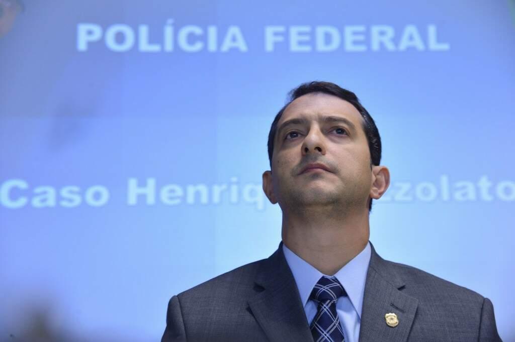 Delegado Rogério Galloro assumirá comando da Polícia Federal (Foto: Valter Campanato/Agência Brasil)