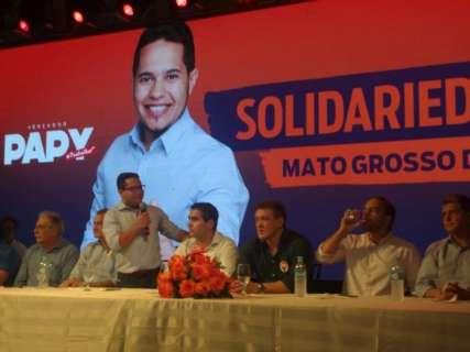 Solidariedade tem meta de dobrar vereadores e disputar sete prefeituras