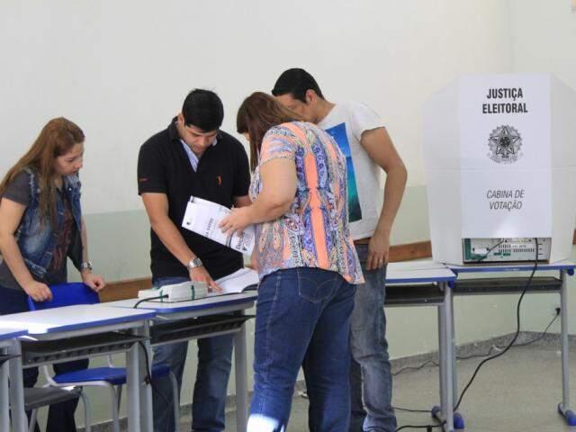 Portaria também descreveu os crimes eleitorais e as regras para votação (Foto: Marina Pacheco)