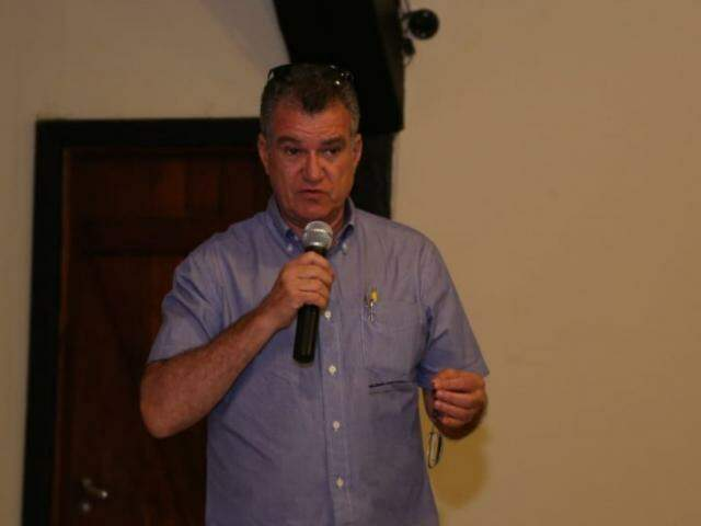 Secretário municipal de turismo de Bonito, Algusto Barbosa Mariano. (Foto: Kisie Ainoã)