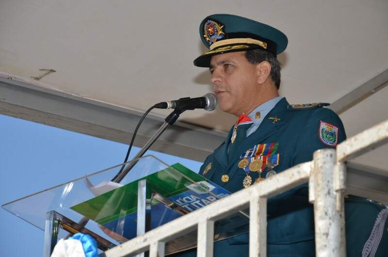 Coronel exalta o trabalho desenvolvido pela PM do Estado. (Fotos:Vanderlei Aparecido)