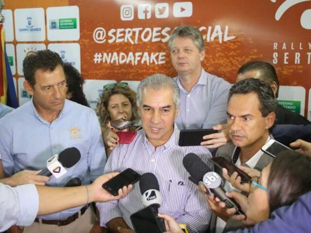"""Reinaldo considerou escolha de Bolsonaro para a Saúde """"extremamente positiva"""" e frisou que tabela SUS será o primeiro desafio de Mandetta. (Foto: Paulo Francis)"""