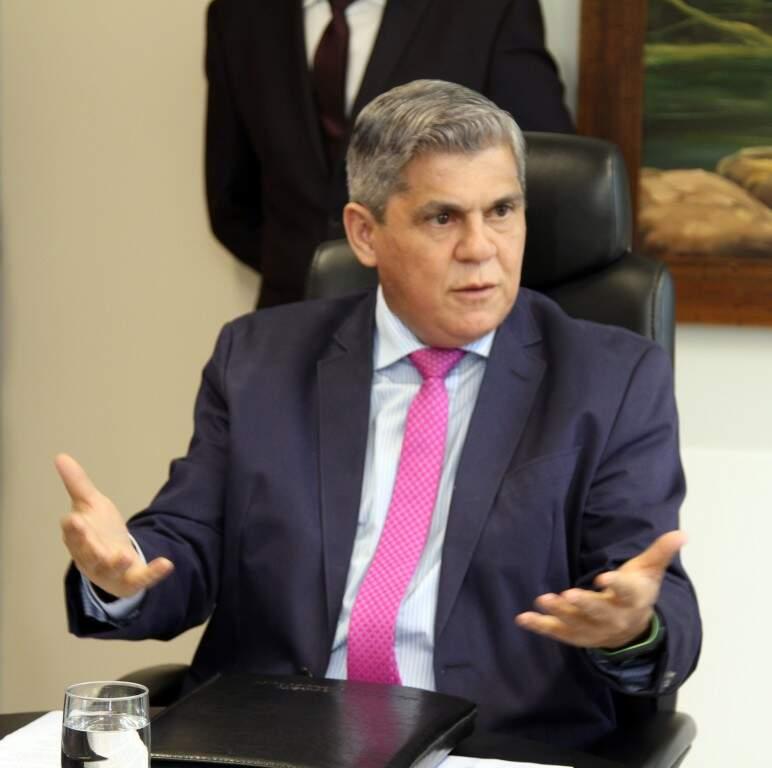 O ex-deputado estadual e ex-deputado federal, Waldir Neves, atual presidente do TCE/MS (Foto: Divulgação)