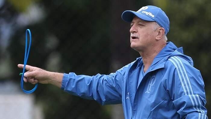 Felipão volta ao comando do time neste domingo (Foto: Cesar Greco/Agência Palmeiras)