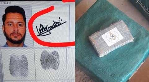 Símbolo da Maçonaria em pacotes de cocaína intriga polícia paraguaia