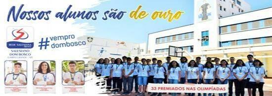 Alunos comemoram sucesso nas olimpíadas do conhecimento (Foto: Divulgação).