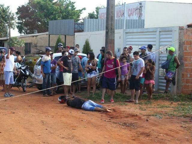Além do roubo a Hilux, Deiveid Silva Josende também tinha várias passagens na polícia (Foto: Fernando Antunes)