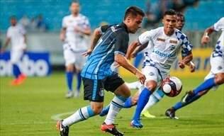 A partida entre Grêmio e São José só engatou no segundo tempo, mas o placar terminou em empate. (Foto: Site Oficial Grêmio FC)