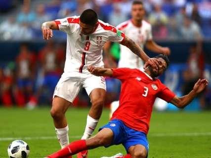 Sérvia vence a Costa a Rica por 1 a 0 e, por enquanto, lidera grupo do Brasil
