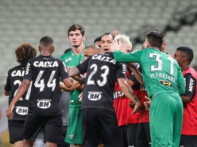 O Ferroviário sai da Copa do Brasil com a melhor campanha de todas as suas participações no torneio. Já o Atlético-MG segue para a 5ª fase. (Foto: Atlético FC)