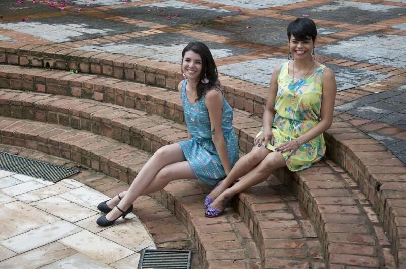 Confortáveis, os vestidos combinam perfeitamente com o verão (Foto: Rafael Machado)