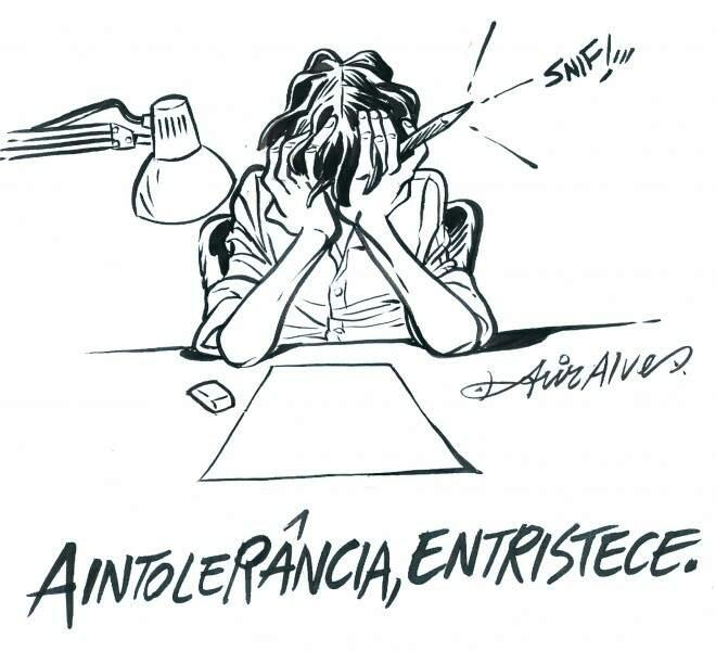 Charge lembra ataque a jornal francês (Acir)