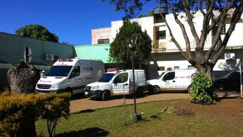Oito vítimas foram levadas para o Hospital São Matheus (Foto: Alô Caarapó)