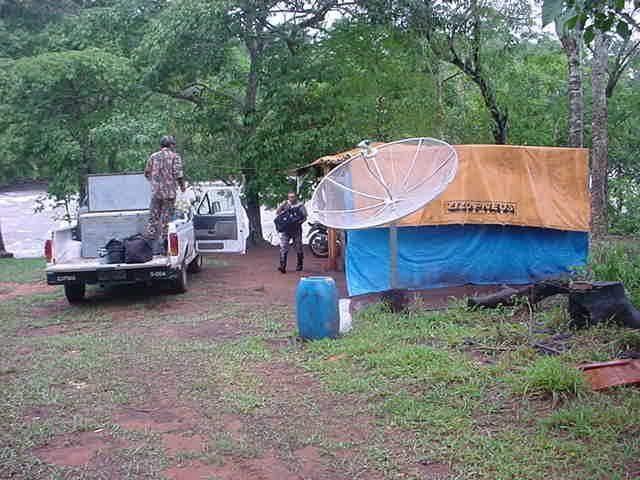 PMA atribui queda na quantidade de apreensões por causa da estratégia usada este ano. Equipes de policiais estão acampados em 10 pontos fixos pelo Estado. (Foto: divulgação/PMA)