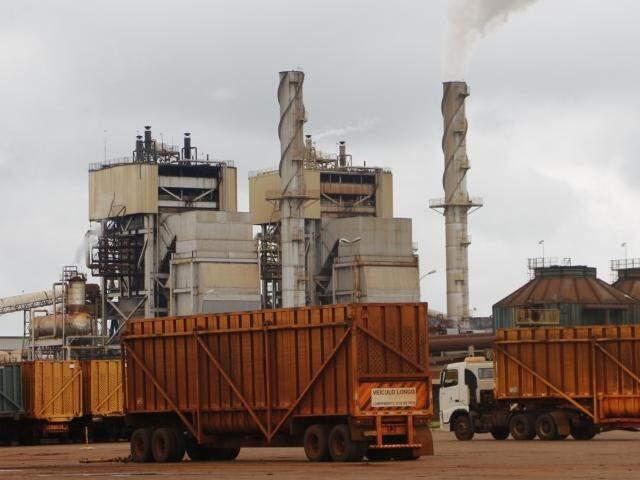 Usina São Fernando, em Dourados, deve R$ 1,3 bilhão e teve plano de recuperação rejeitado por credores (Foto: Helio de Freitas)