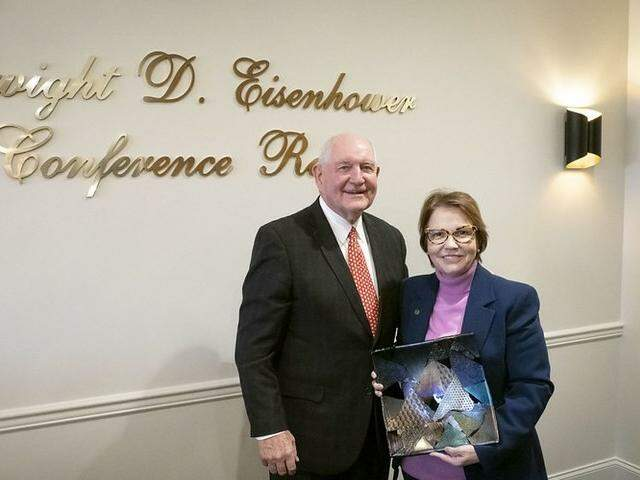 Secretário de Agricultura dos EUA, Sonny Perdue e a ministra da Agricultura Tereza Cristina