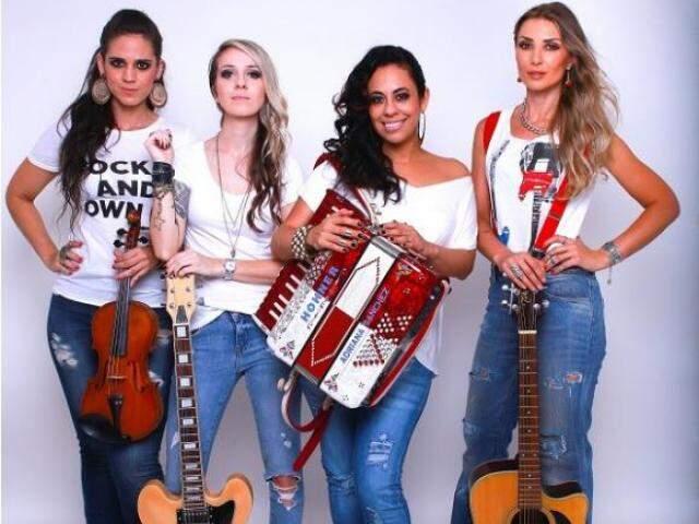 A Barra da Saia está na estrada desde 1999 com uma proposta pioneira na música sertaneja. (Foto: Divulgação)